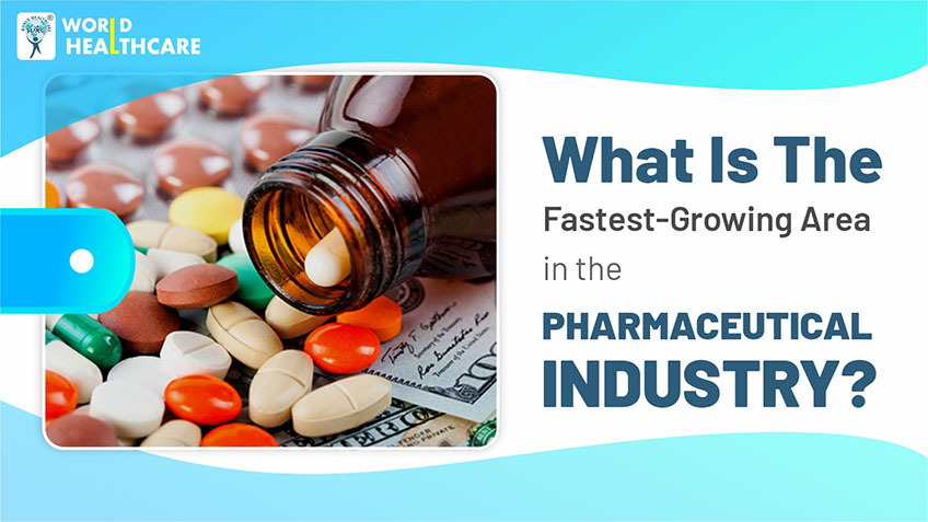 What is the fastest-growing area in the pharmaceutical industry?
