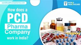 How does a PCD Pharma company work